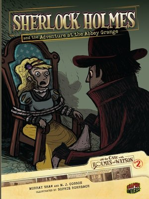 cover image of Sherlock Holmes and the Adventure at the Abbey Grange