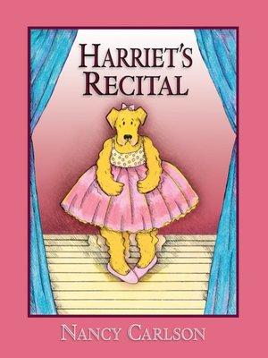 cover image of Harriet's Recital