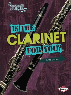 cover image of Is the Clarinet for You?