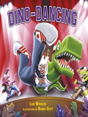 cover image of Dino-Dancing