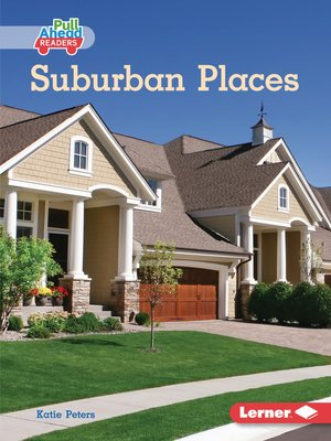 cover image of Suburban Places