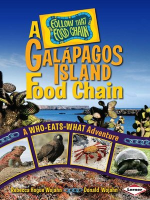 cover image of A Galápagos Island Food Chain