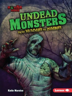 cover image of Undead Monsters