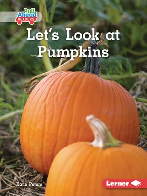 cover image of Let's Look at Pumpkins