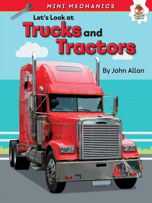 cover image of Let's Look at Trucks and Tractors