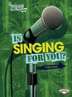 cover image of Is Singing for You?