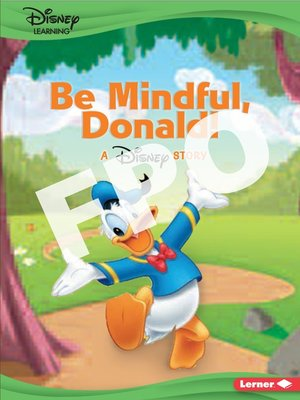 cover image of Be Mindful, Donald!