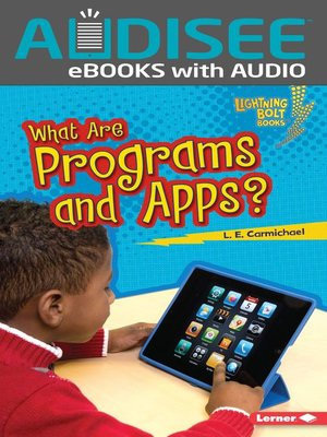 cover image of What Are Programs and Apps?