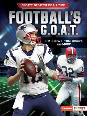 cover image of Football's G.O.A.T.