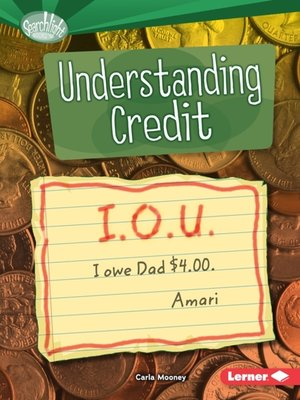 cover image of Understanding Credit