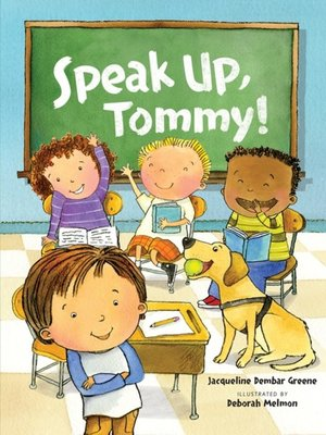 cover image of Speak Up, Tommy!