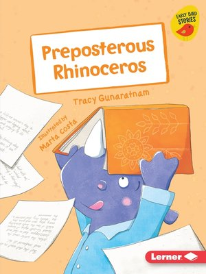 cover image of Preposterous Rhinoceros