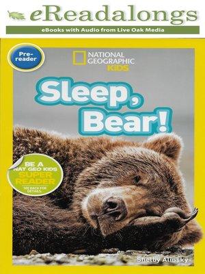 cover image of Sleep, Bear!