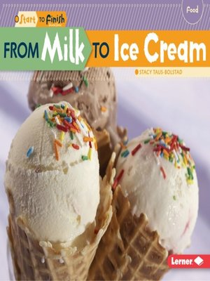 cover image of From Milk to Ice Cream