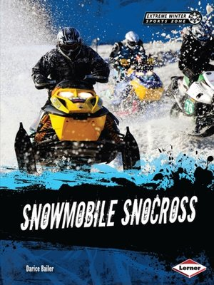 cover image of Snowmobile Snocross