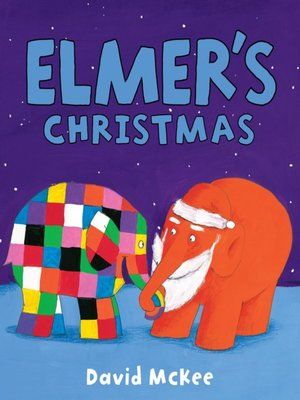 cover image of Elmer's Christmas