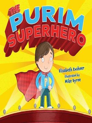 cover image of The Purim Superhero