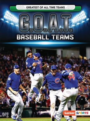 cover image of G.O.A.T. Baseball Teams