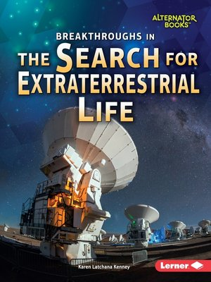 cover image of Breakthroughs in the Search for Extraterrestrial Life