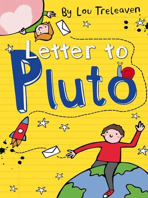 cover image of Letter to Pluto