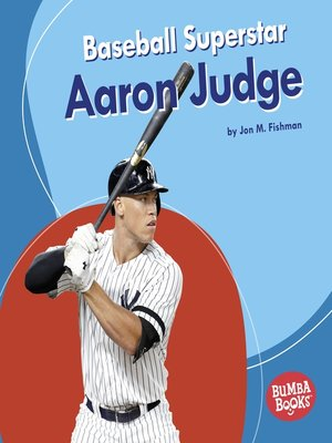 cover image of Baseball Superstar Aaron Judge