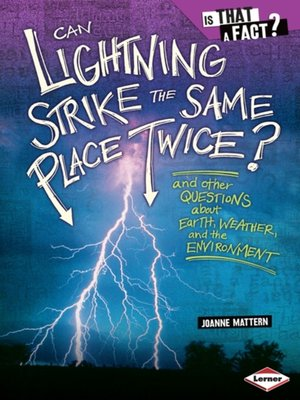 cover image of Can Lightning Strike the Same Place Twice?