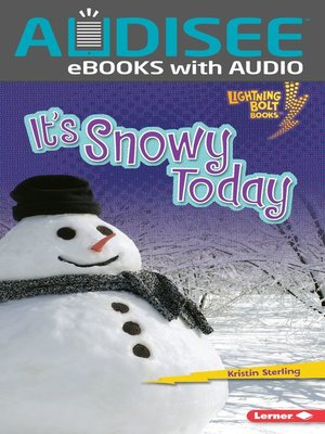 cover image of It's Snowy Today