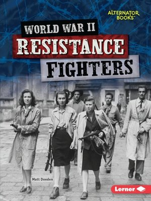 cover image of World War II Resistance Fighters