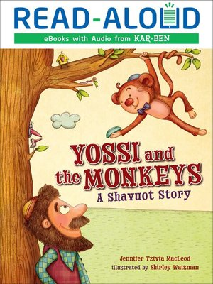 cover image of Yossi and the Monkeys