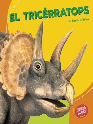 cover image of El tricérratops (Triceratops)