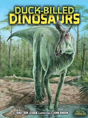 cover image of Duck-Billed Dinosaurs