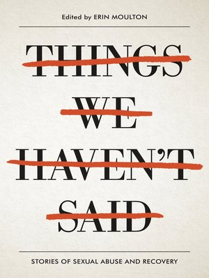 cover image of Things We Haven't Said