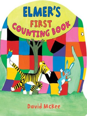 cover image of Elmer's First Counting Book