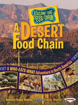 cover image of A Desert Food Chain