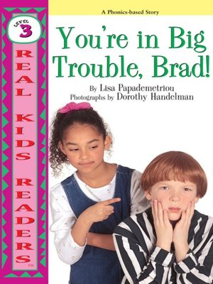 cover image of You're in Big Trouble, Brad!
