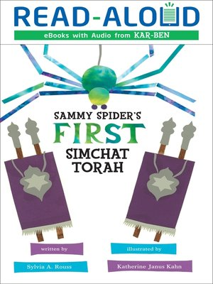 cover image of Sammy Spider's First Simchat Torah