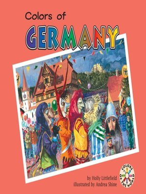 cover image of Colors of Germany