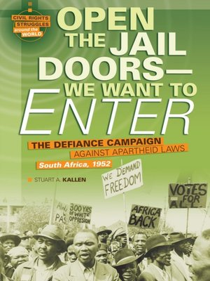 cover image of Open the Jail Doors - We Want to Enter