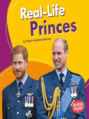 cover image of Real-Life Princes