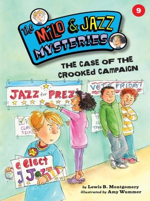 cover image of The Case of the Crooked Campaign
