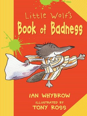 cover image of Little Wolf's Book of Badness