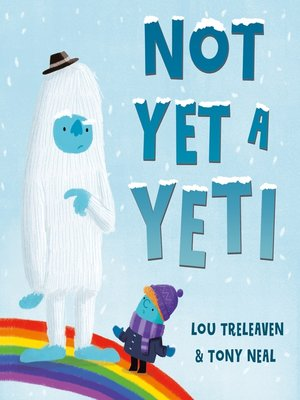 cover image of Not Yet a Yeti