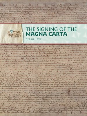 cover image of The Signing of the Magna Carta