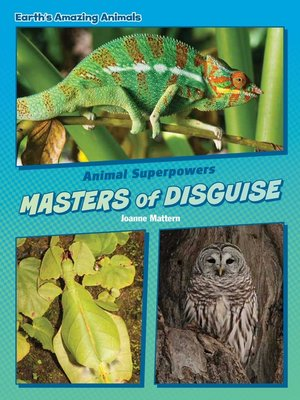 cover image of Masters of Disguise