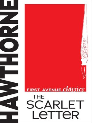 cover image of The Scarlet Letter