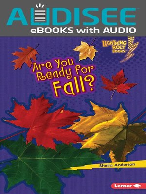 cover image of Are You Ready for Fall?