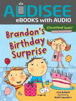 cover image of Brandon's Birthday Surprise