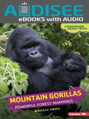 cover image of Mountain Gorillas