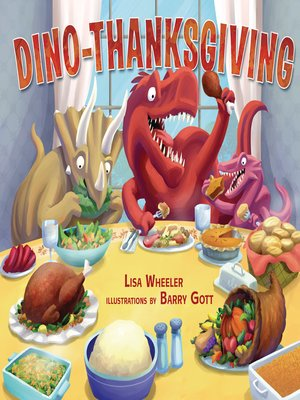 cover image of Dino-Thanksgiving