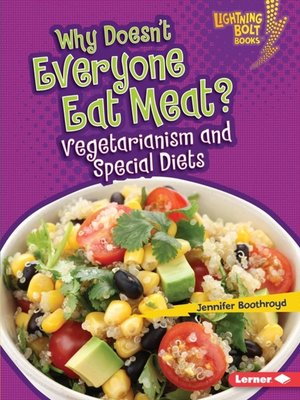 cover image of Why Doesn't Everyone Eat Meat?